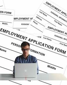 Image - Employment application