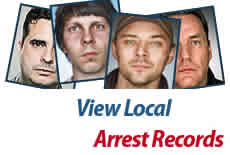 Illustration representing arrest records