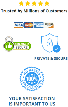 Illustration representing secure website