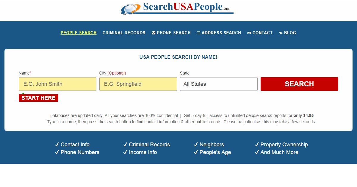 Public Record Searches | 8 Free Public Record Sources